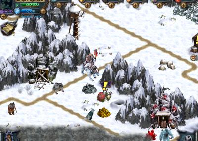 Локация зимы